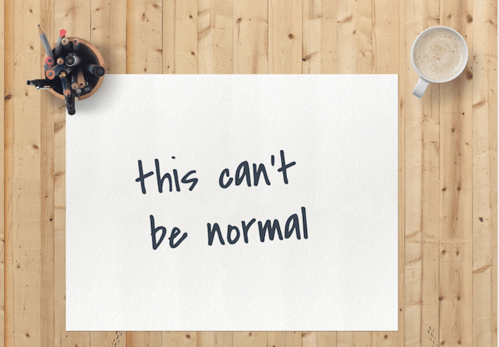 "Finding the art of the ""new normal"""